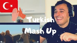 Italian Reaction to TURKISH MASHUP Ft. Kadr x Esraworld - Sen olsan bari, Leylim Ley,Narin Yarim