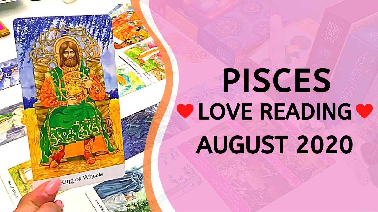PISCES ❤️ Your Eyes Have Been Opened ~ Love Tarot Reading August 2020