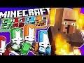 "Minecraft | ""BURNING VILLAGERS ALIVE!"" | Castle Crashers Remade in Minecraft"