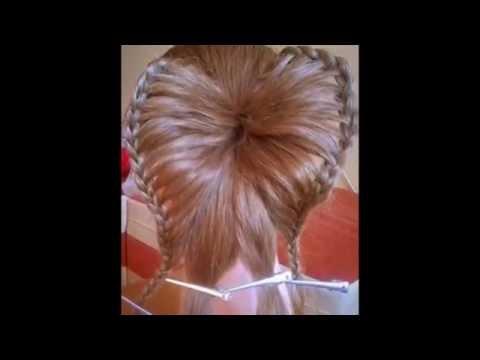 Две красивые прически на длинные волосы  Пошаговые  фото