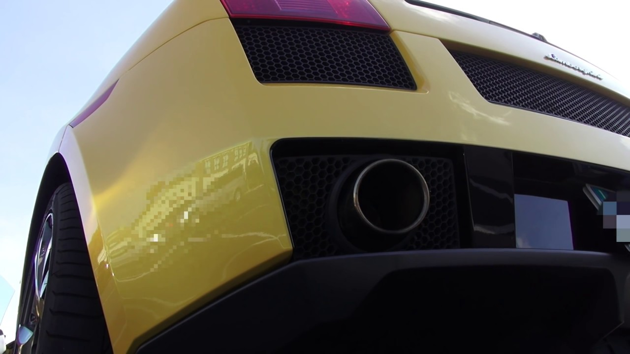 Lamborghini Gallardo Special Edition Cost Of Ownership Exhaust