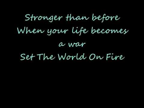 Black Veil Brides Set The World On Fire Lyrics