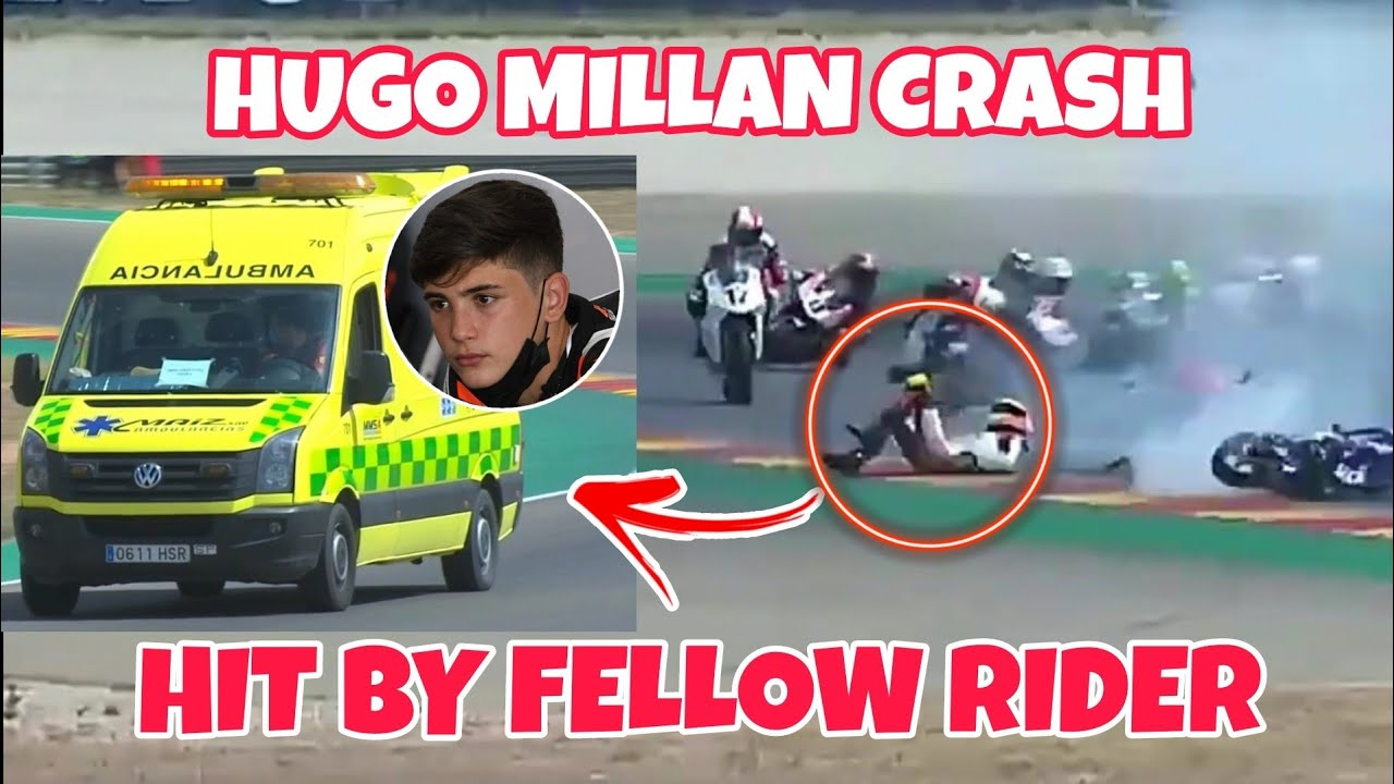 14-year-old motorbike rider Hugo Milln killed in European Talent ...