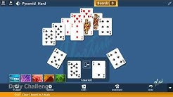 Microsoft Solitaire Collection - Pyramid [Hard]   May 15th 2020: Clear 1 Board in 2 deals