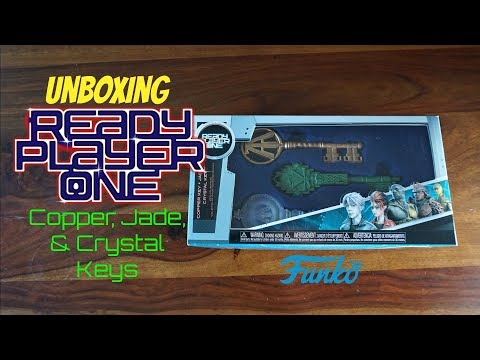 Unboxing: Funko Ready Player One - Jade, Copper, & Crystal Keys