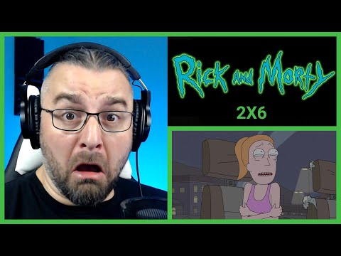RICK AND MORTY 2X6 REACTION ''The Ricks Must Be Crazy''