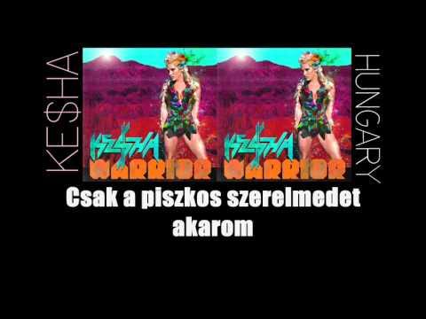 Ke$ha - Dirty Love ft. Iggy Pop (MAGYARUL)