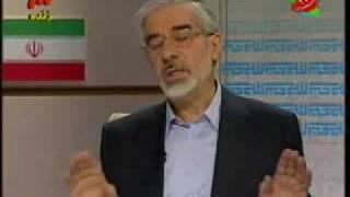 مناظره انتخاباتي موسوي و احمدي نژاد قسمت آخر