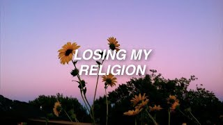frank iero and the patience • losing my religion [lyrics]