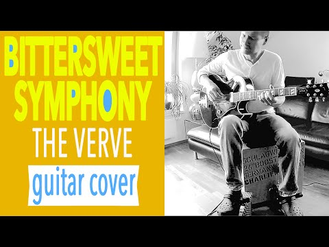 Bittersweet Symphony THE VERVE Richard Ashcroft Fingerstyle Guitar Solo Cover - Charlie Kager