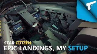 Star Citizen | Epic Landings and My Gamepad Setup