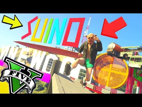 GTA 5 ONLINE 🐷 PARKOUR DEATHMATCH HARD 🐷N*76🐷 GTA 5 ITA GAMEPLAY 🐷 DAJE !!!!!!!