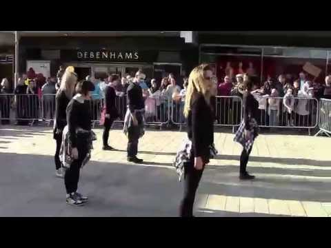 Hype Dance - advanced contemporary & intermediate street dan