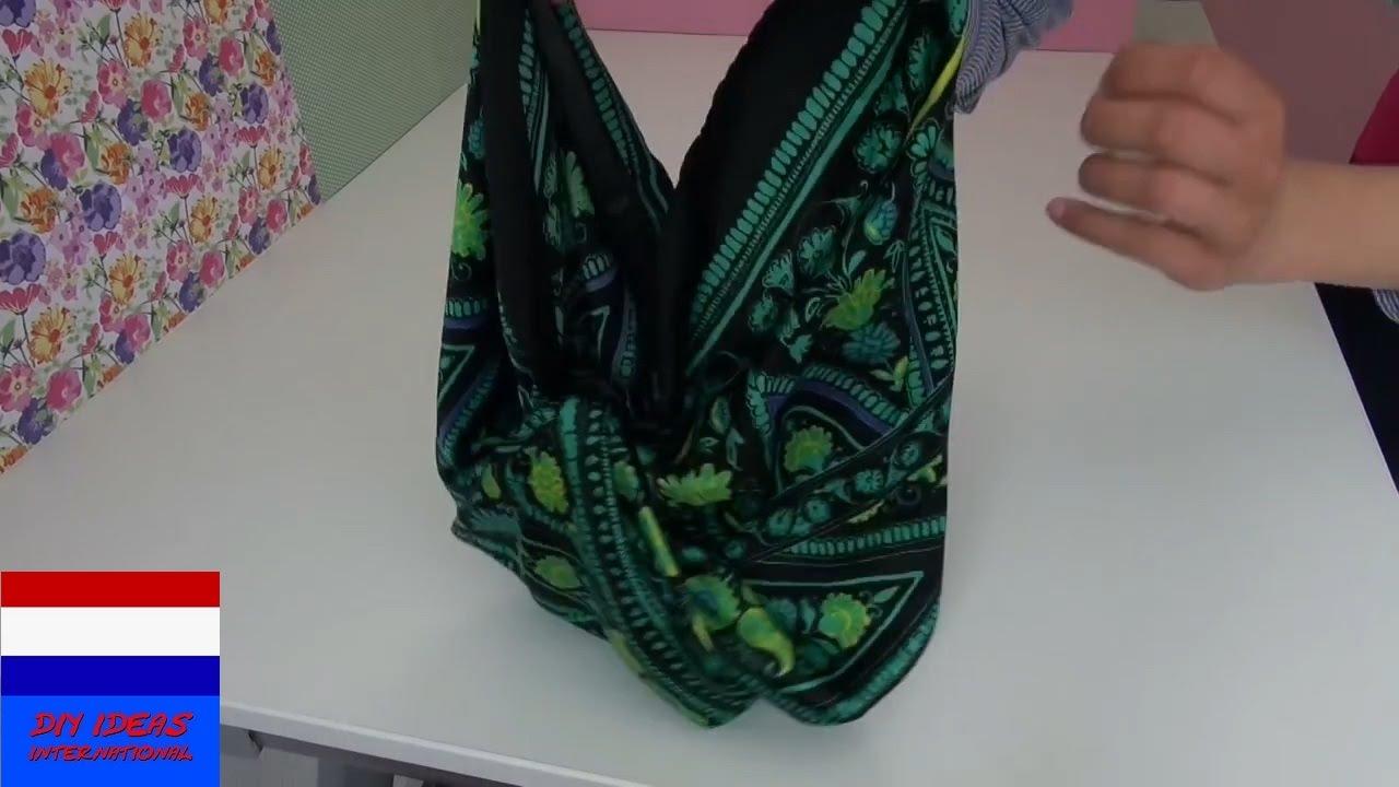 Welp DIY tas zonder naaien! Tas maken zonder naaimachine. Tas zonder UL-89