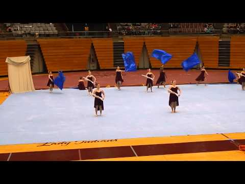 Carter Middle School Winter Guard Qualifier 2014