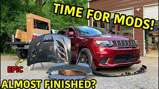Rebuilding A Wrecked Jeep Trackhawk Part 23