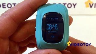 Смотреть видео детские часы с gps трекером