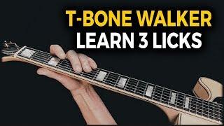 T-Bone Walker Licks - Blues in G