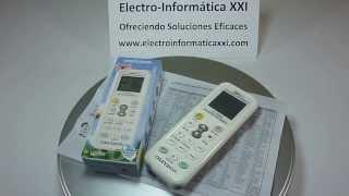 Mando A Distancia Universal para Aire Acondicionado AC A/A Modelo K-1028E