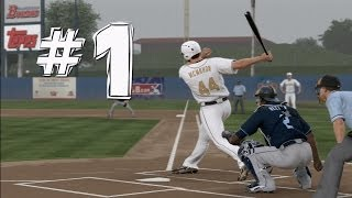 MLB 14 The Show: Road to the Show - Player Creation - [Ep 1]