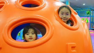 Indoor Playground Family Fun Play Area for Kids, Baby Nursery Rhymes Song for Children!