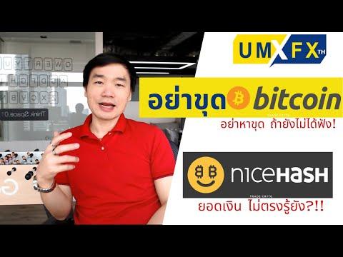คำนวณรายได้ก่อน ขุด Bitcoin ปี 2021 คุ้มไหม?  niceHASH ยอดเงินไม่ตรง รู้ยัง!?