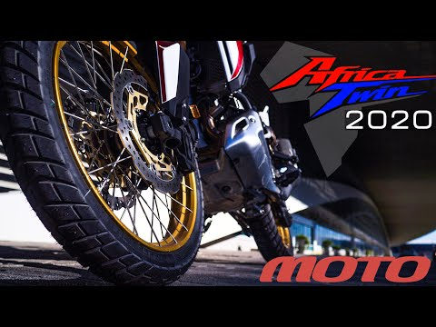 Первый тест Honda CRF1100L Africa Twin Adventure Sports ES DCT 2020 года