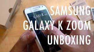 Samsung Galaxy K Zoom unboxing