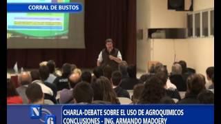 conclusiones sobre charla de agroquimicos