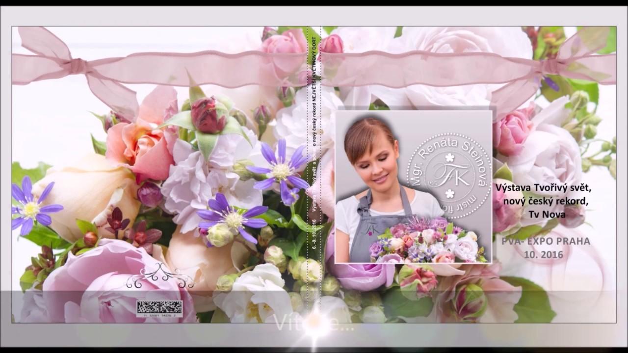 Video Největší květinový dort