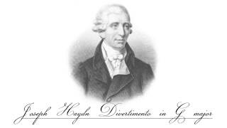 Joseph Haydn - Divertimento in G major, Hob XVI:8 ~ IV. Allegro [4/4]