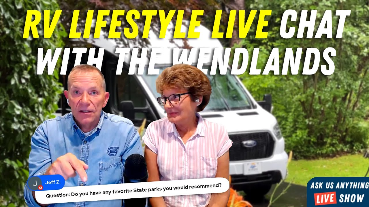 Tips for Your RV Life! Answering Your RV Lifestyle Questions LIVE