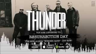 "Thunder ""Resurrection Day"" Official Song Stream from the album ""Wonder Days"""