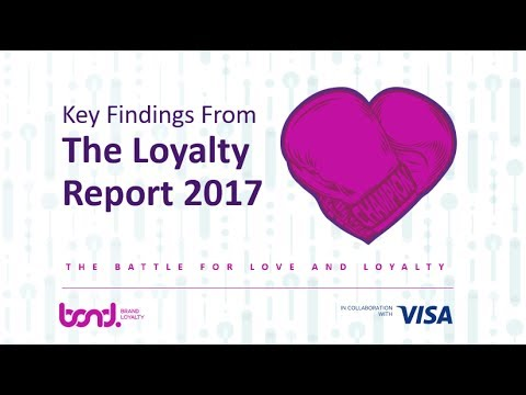 The Battle for Love & Loyalty—Key Findings from the Loyalty Report 2017