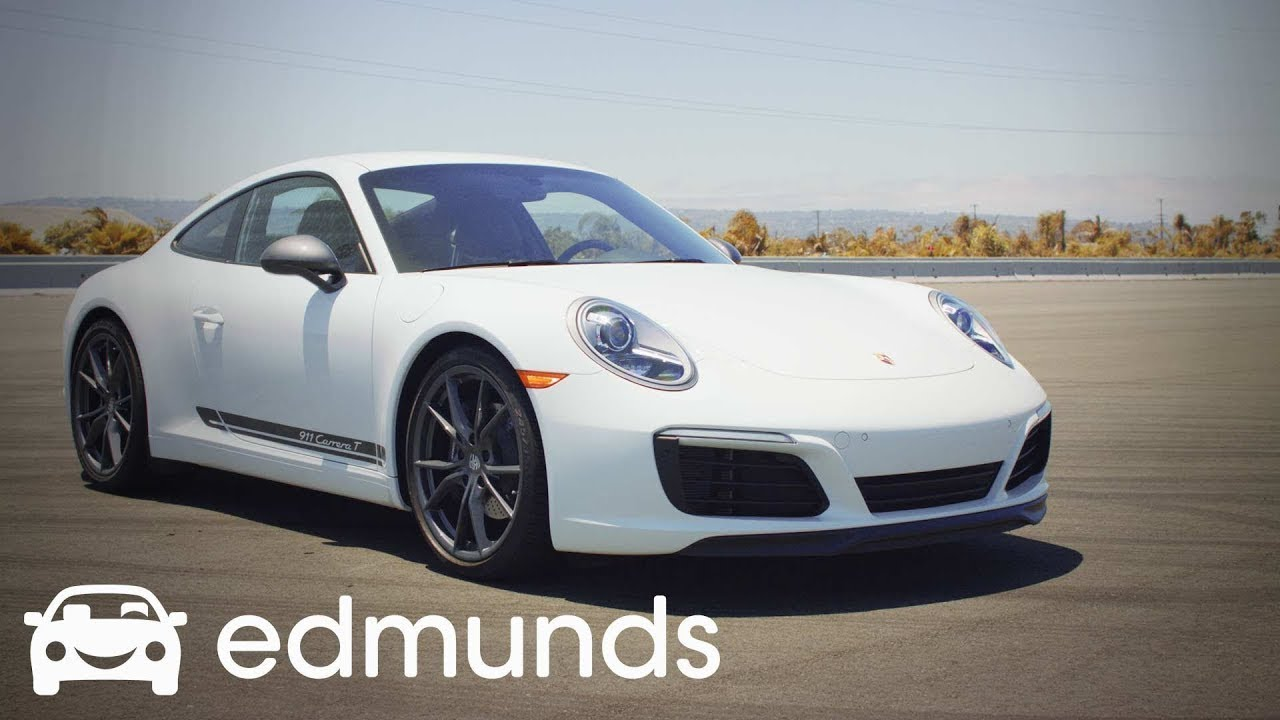 Porsche 911 Carrera T Why It S The Driver S 911 Edmunds Youtube