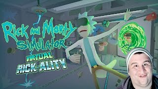 I'M A MORTY CLONE?! | Rick and Morty VR (HTC VIVE VR Gameplay)