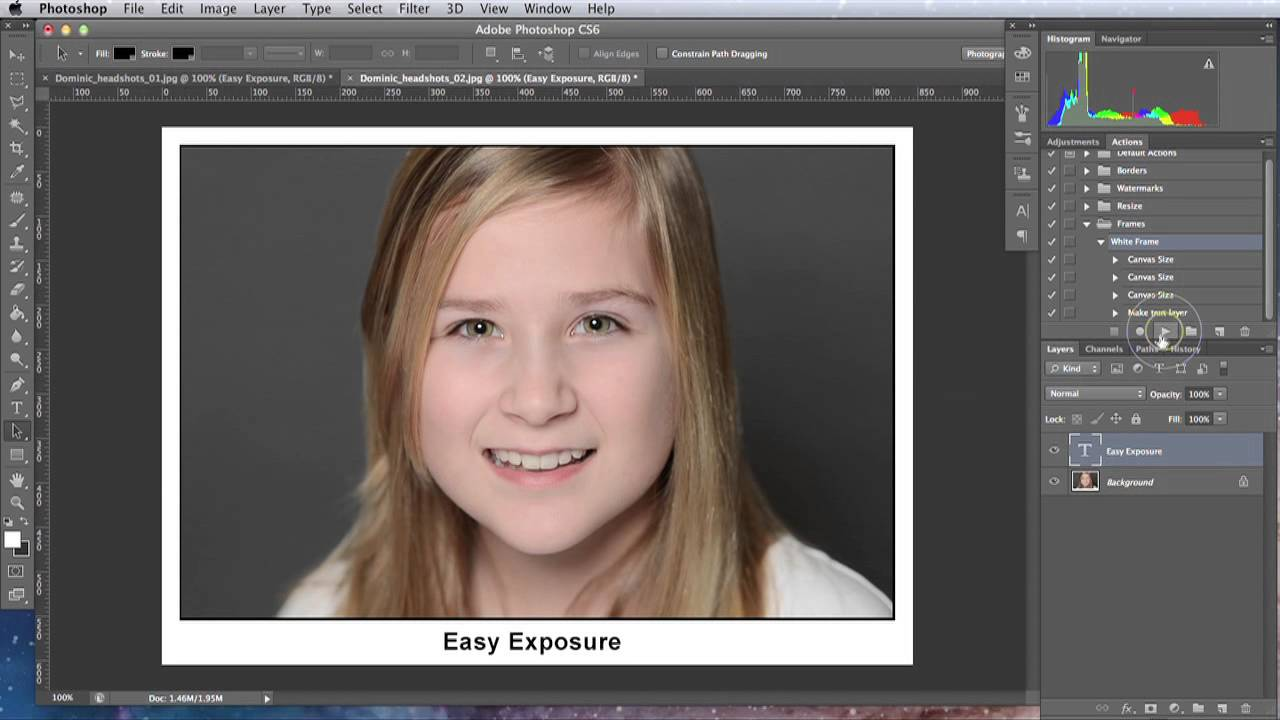 Lesson 25 - Creating the Border or Frame around the Image in ...