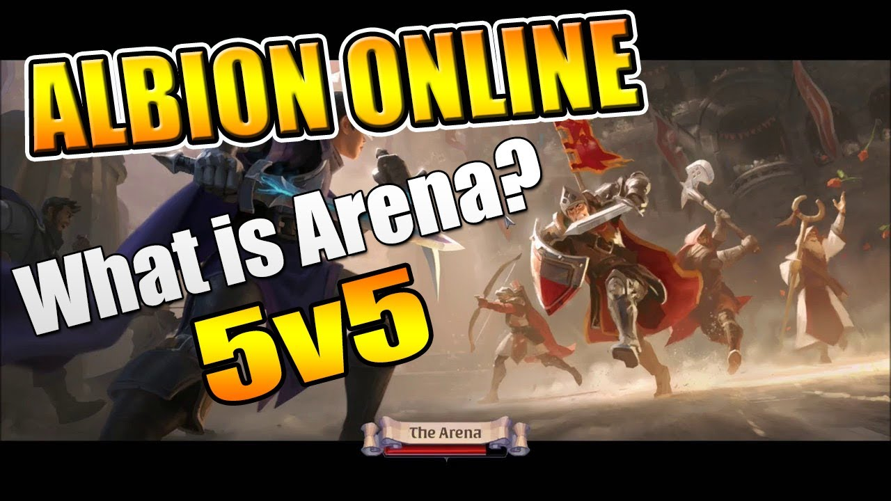 Albion Online Arena 5v5 - How to Play Arena in Albion Online!