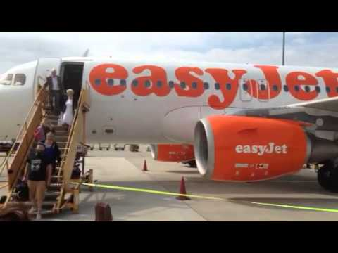 Easy jet a320 at Vienna