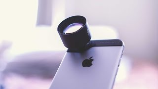 Turn your iPhone into a DSLR? - Moment Lenses!