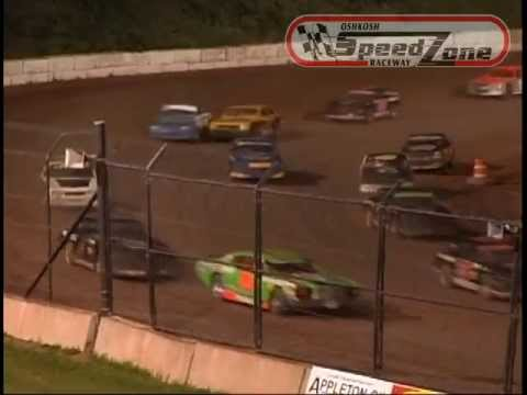 Oshkosh Speedzone Raceway - July 5, 2013 - Street Stock Feature