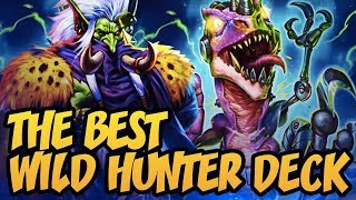 This Is The BEST Wild Hunter Deck At The Moment! | Rastakhan's Rumble | Hearthstone: