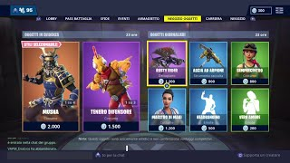 FORTNITE SHOP 10 JENNAIO - , MUSHA, TENERO DIFENSORE, HIME, REAL LOVE AND MORE