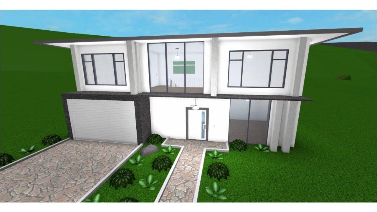 roblox casa moderna 15k bloxburg youtube