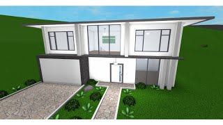 Roblox: 15K Modern House-(Bloxburg)