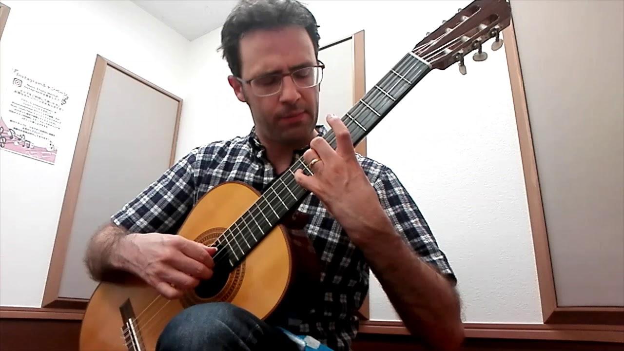 Intermediate Classical Guitar: Sor Study Op. 60, No. 20
