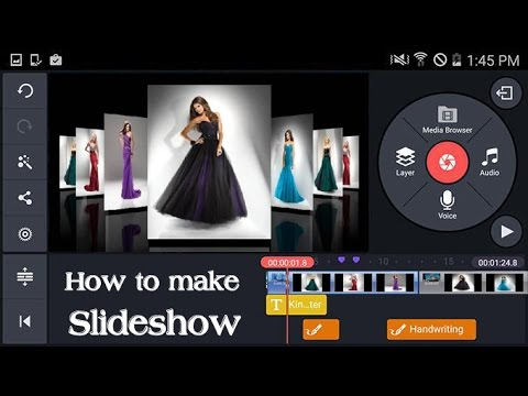 how to create a slideshow on android