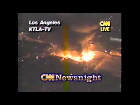 LA Riots Live Coverage As It Happened 4/29/92