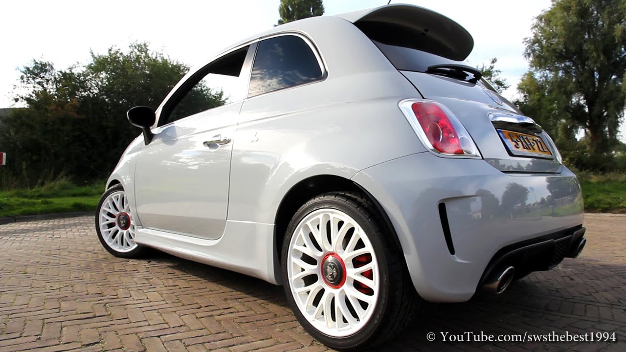 Abarth 500 Sound - Stock vs Magneti Marelli ardone 2.0 - YouTube