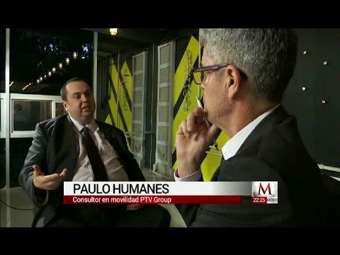 "Paulo Humanes, PTV Group, on Mexican TV ""Milenio noticias"""